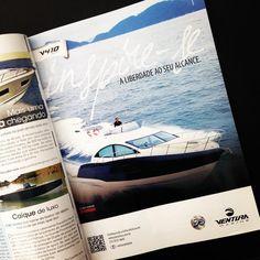 Anúncio Ventura Marine veiculado na Revista Náutica, maio 2014.
