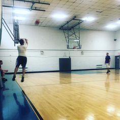 Nothing like a 6am pick up game to wake you up #bball #workout #nyc #14y