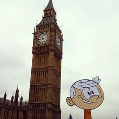 Lincoln takes London continues! Big Ben meet Little Lincoln! by theloudhousecartoon Big Ben Clock, 21st Century Fox, Sister Act, Walt Disney Animation Studios, Great Britain, Lincoln, Dc Comics, Two By Two, Cinema