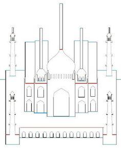 Libros Pop-Up Books Cards: Taj Mahal Plantilla Gratis PDF Cómo Hacer una Tarjeta Popup de Arquitectura Origámica