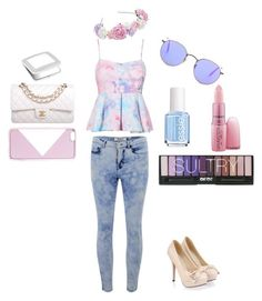 """""""Girly Summer Outfit fashion 2015"""" by ootdqueen1889 on Polyvore"""
