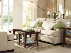 Ideas For Pottery Barn Family Room Design 25014 Beautiful Pottery Barn Living Room Designs, Gallery Ideas For Pottery Barn Family Room Design 25014 Beautiful Pottery Barn Living Room Designs with total of image about 4816 at Home Design Ideas Barn Living, Home Living Room, Living Room Decor, Living Spaces, Small Living, Pottery Barn, Family Room Decorating, Decorating Ideas, Decor Ideas