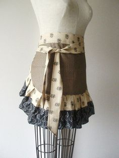 The Sophisticated Apron by TheMintNeedle on Etsy, $19.00