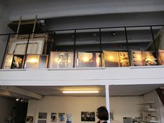 Atelier à l'usine Chapal / Portes ouvertes ateliers d'artistes / mi-octobre 2012