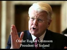 How Iceland defeated the Anglo-American Bankster Mafia - This is what America needs to do, indeed all countries controlled by the 1-2%.