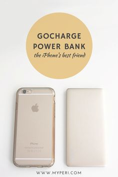 The #iphone power bank is slim but packs a lot of juice so that your phone is charged all day!