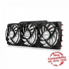 ARCTIC Accelero Xtreme Plus ll: Overclockers or Gamers will not want to miss its unmatched cooling performance while doing it in total silence. High End Gaming Pc, Gaming Pc Build, Xtreme, Computer Shop, Crossfire, Computer Hardware, Video Card, Electronics Gadgets, Media Center