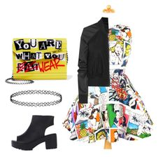 """""""Untitled #42"""" by ellalovescorgis ❤ liked on Polyvore featuring Rick Owens and Jimmy Choo"""