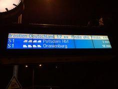 Bahn: Deutschland Brasilien 7:1