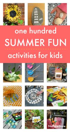 100 fun and easy summer activities for kids, at home summer camp ideas Outside Activities For Kids, Summer Camp Activities, Outdoor Activities, Preschool Summer Camp, Children Activities, Free Activities, Family Activities, Off Grid, Crafts For Kids To Make
