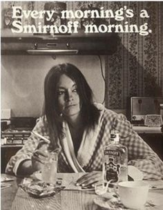 Every morning's a Smirnoff morning.
