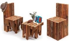 Dave Ritinger's Mate chair and side table set is one crazy furniture design
