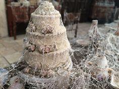 """Miss Havisham's Dining Room"" Detail, 2016 British Costume, Miss Havisham, Vintage Dressing Tables, Great Expectations, Corpse Bride, Miniature Rooms, Alternative Wedding, Halloween Party, Wedding Cakes"