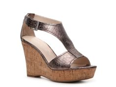 Franco Sarto Supra Wedge Sandal comes in a gold too