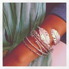 gorgeous MM jewelry.. all the way up my arm :)