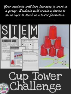 STEM Cup Tower Chall