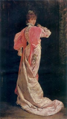 1879, Sarah Bernhardt as the Queen in Ruys Blas, French Painters: CLAIRIN Georges-Jules-Victor