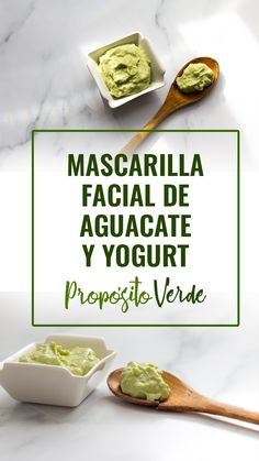 "DIY Mascarilla de aguacate y yogurt ""AvoYogurt Mask"" Especial para hidratar y aclarar el cutis. Natural Blush, Natural Makeup, How To Become Vegan, Vegan Baby, Diy Lotion, Natural Yogurt, Homemade Face Masks, Beauty Recipe, Face Cleanser"