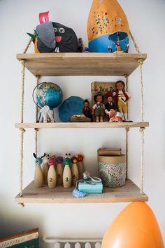 Rangement Céramiques Livres Jouets Enfant Appartement Neuilly Amélie Colombet