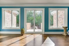North Georgia Replacement Windows patio french doors with casement windows. Adds a lot of natural light in your home AND lowers your energy bills. Casement Windows, Doors, Home, Sliding French Doors, Door Window Replacement, Windows, French Doors, Door Design, Replace Door
