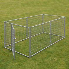 Lucky Dog™ Welded Wire Yard Kennel