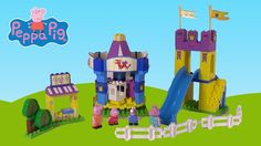Peppa Pig Fun Park Construction Set - Toy Unboxing, Build and Play Review