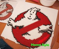 Hama Style & Amigurumis: Cazafantasmas - Ghostbusters