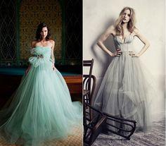 menta Formal Dresses, Wedding Dresses, Ball Gowns, Fashion, Mint, Dresses For Formal, Bride Dresses, Ballroom Gowns, Moda