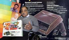 """Gerald Lawson is recalled as the """"father of home video games,"""" having developed the first home #video game system with interchangeable game cartridges in the 1970s. This spawned today's universe of Playstations and Xboxes, according to the NY Times. Jerry Lawson often was the subject of disbelief among people who could not imagine he was the engineer responsible for such innovations as director of engineering and marketing for the newly formed video game division of Fairchild Semiconductor."""