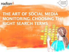 The Art of Social Media Monitoring: Choosing the Right Search Terms