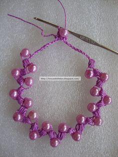 Craft Cute: Crochet Necklace - pap