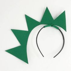 These are made with a headband, laser cut fabric and hidden wires to stand straight up. Great for birthday parties and other events or for photo booth props. One size fits all: babies 6 months and older, toddler, children, and adults. Dinosaur Party, Dinosaur Birthday, Unicorn Party, Dinosaur Crafts, Dinosaur Activities, Baby Birthday, Newborn Halloween Costumes, Baby Costumes, Halloween Headband