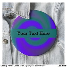 Put a pin in it with a Groovy button at Zazzle! Button pins that really stand out with thousands of designs to pick from. Create easy make buttons & pins today! Green Gifts, How To Make Buttons, Green Colors, Abstract, Purple, Design, Summary, Colors Of Green, Viola