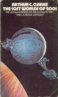 BRUCE PENNINGTON - The Lost Worlds of 2001 by Arthur C. Clarke - 1974 Sidgwick & Jackson