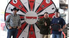Congratulations John! He spun and won with the #dodgebrotherswheel