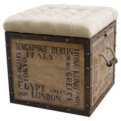 Perfect for a travel themed room