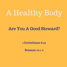 Your Body is Gods Temple