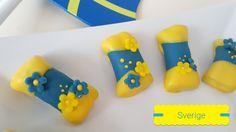 Dammsugare Sverige blågul Punchrulle
