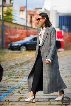 Milan SS 2017 Street Style: Rachael Wang