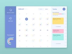 We've recently moved to a coworking space and I decided to make a case study for an app which shows all of your coworking agenda. That's the calendar view, which gives you a color coded bird's eye ...