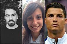 """Três portugueses surgem nas listas """"30 under 30"""" da revista Forbes. São eles o artista Alexandre Farto, que assina como Vhils, o futebolista Cristiano Ronaldo e a cientista Maria Pereira"""