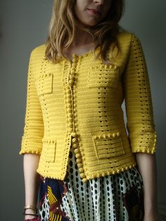 phildar design on ravelry. very chanel. gorgeous crochet work.