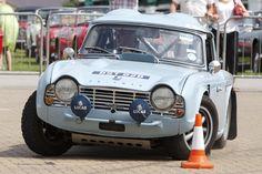 Triumph TR4 Rally