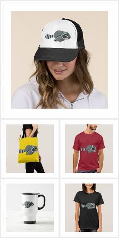 Cute Running Cartoon Raccoon T-Shirts and accessories by Cheerful Madness!! at Zazzle #tshirts #raccoon #cheerfulmadness #raccoons #run #accessories #animation #comics #merchandise #customizable #zazzle #gifts #trickfilm #geek #nerd