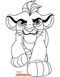 50 Lion King Ideas Lion King Disney Coloring Pages Coloring Books Kion, the son of simba, leads his friends known as the lion guard to protect the pride lands. lion king disney coloring pages