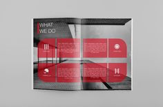 Catalog/Brochure/Annual Report Template on Behance