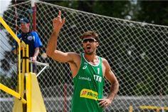 Making a point Italy's Alex Ranghieri