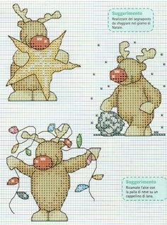 Cross Stitch Christmas Cards, Xmas Cross Stitch, Cross Stitch Love, Cross Stitch Cards, Cross Stitch Animals, Christmas Cross, Cross Stitch Designs, Cross Stitching, Cross Stitch Embroidery