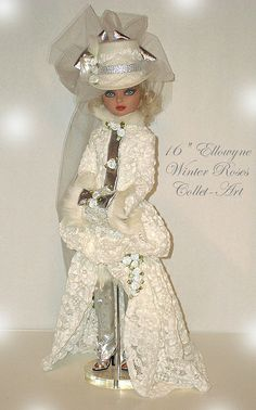"""Winter Roses 2010 - 16"""" Ellowyne Prudence Wilde Imagination Tonner by collet-art, via Flickr"""