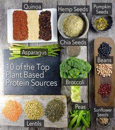 Top protein pack vegetables and legumes #vegan #vegetarian #meatfree via food inc